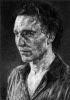 ACEO - Tom Hiddleston by SecondGoddess