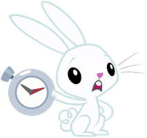 Angel Bunny: 'You're late' by AtomicGreymon