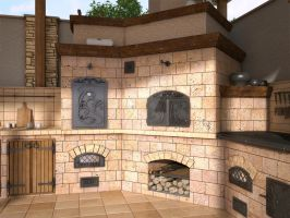 Fireplace 12 1 by i-t-h-i-l