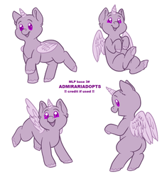 MLP base 3# (F2U) by admirariadopts