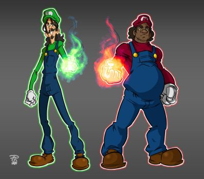 Super Bros. by TheWizpir