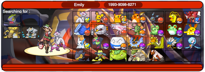 My shinies on pokemon Y by Ducky-the-Wolf