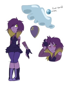 Purple lapis custom for Tehwatcher by TryingTheBest