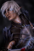 Fenris - Becoming Rage by YumiKoyuki