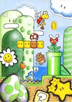 Super Mario World by BloodyButterfly-wp