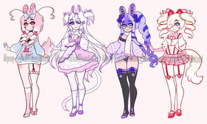 (CLOSED) Cutie Adoptables .o42 by Mymy-TaDa