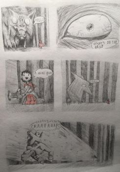Red riding hood Experimental comic by PinkAndScary