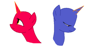 MLP Base ~ Sad Heads by randomfan12