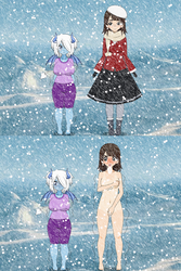Strip Game Arctic Edition: Round 1, Match 4 by Brooms17