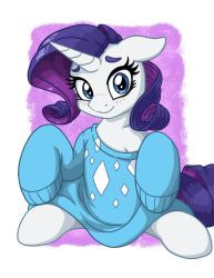 Rarity In Over-sized Sweater by LateCustomer