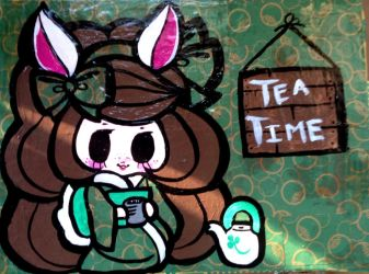 tea time by AtomicBunny