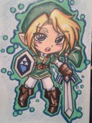ChIbI AdVeNtUrEs : lInK by project-fallen-angel
