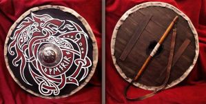 Viking Shield Fenrir by ForgeCreations