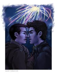 Fireworks: Teen Wolf by dauntingfire