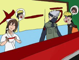 Naruto's new job!! by KayTheYatagarasu
