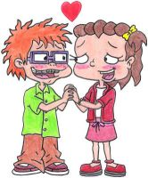 Chuckie and Lil Holding Hands by nintendomaximus