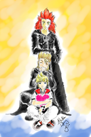 KH2- AkuRokuDemy lurve by SirLadySketch