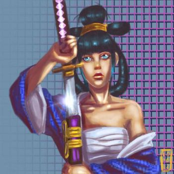 Onna bugeisha by Exile-062