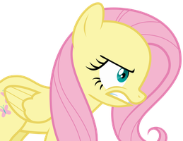 Fluttershy Venting Angrily by Uponia