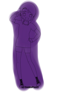 My OC (me) CookiexD by CookiePuux3