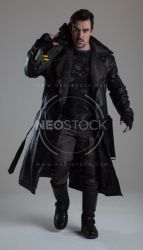 Danny Cyberpunk Detective 138 - Stock Photography by NeoStockz