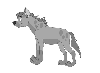 Free to use hyena base by knowitall123-adopts
