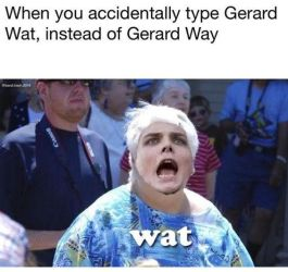 Wat Gerard? by DeviationOverAll