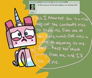 Q and A #29 by Princess-Unikitty