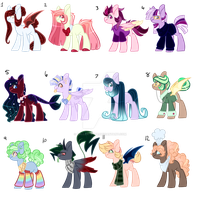 Mystery Adopts {closed} by HARVEST-M00N