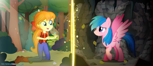 I remember you. (My Little Pony Generation 1) by InvisibleInkDoodles