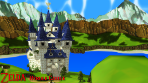 (MMD Stage) Hyrule Castle Download by SAB64