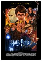 Harry Potter DH Poster by CAMartin