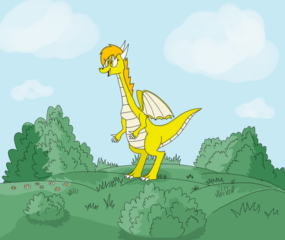 Yay !! Yellow is here!! by BIO675