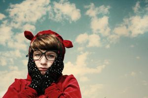 Red bear by soniaa