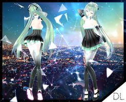 TDA Alternate Miku Append [DL+] by NEPHNASHINE-P