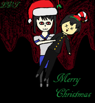 Merry Christmas-Yandere Simulator by lovetrouble123