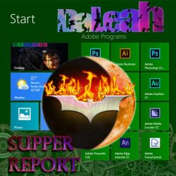DaLeah Supper Report Dark Knight by DaLeahWeathers