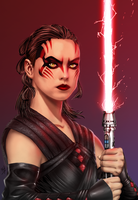 Darth Rey by channandeller