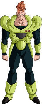 Android 16 render 20 - DB Xkeeperz by maxiuchiha22