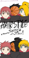 Hairstyle switch!!! by ChocoCaramelPuff03