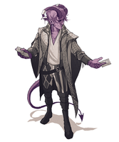 Critical Role: Mollymauk by coupleofkooks