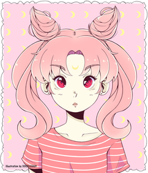 Chibiusa (Renee) by DipolarSquire
