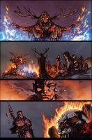 Dissension - War Eternal Page 3 colors by Arciah