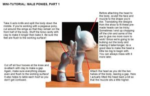 Mini-tutorial: Making Male Pony Customs by Colour-Splashes