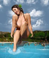 Giant Denise Milani by bcgfdfshggd