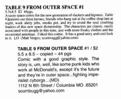 Table 9 Reviews by scumbugg
