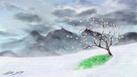 The Magical Apricot Tree by ThorTyrker