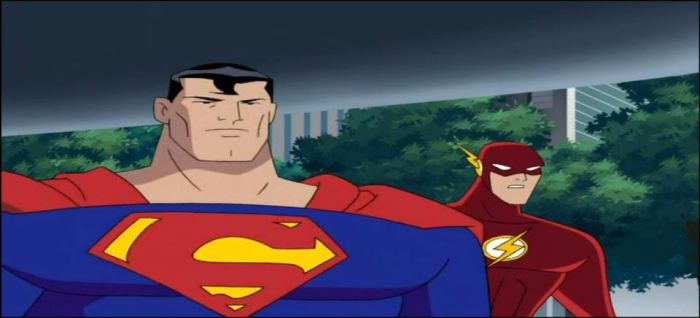 Two members of the Justice League by Wakko2010