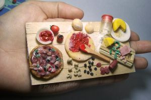 Pizza Preparation Board- Scale by margemagtoto