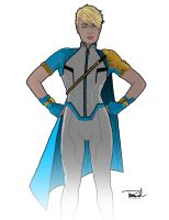 A New NEW Redesign for Power Girl by tsbranch